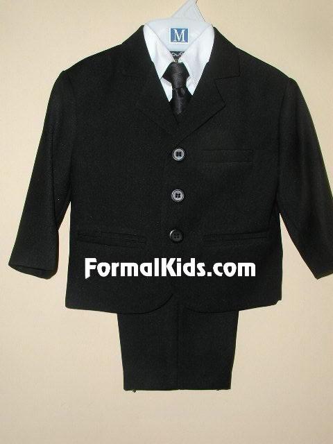 Infant & Children Boy Suit, CS1 Blk