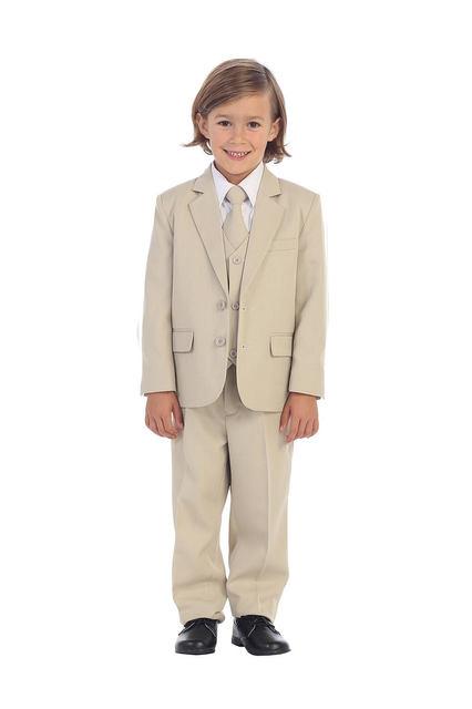 Infant & Boys Khaki Suit, T408