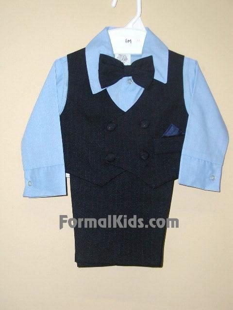 Infant Vest Set V2 Navy