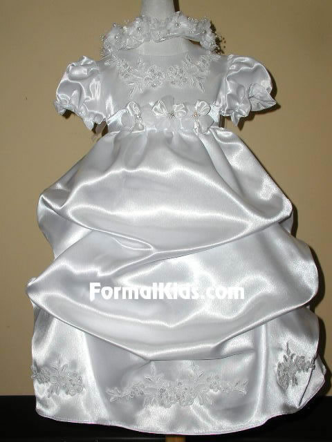 Infant Gown with Pickups, K574