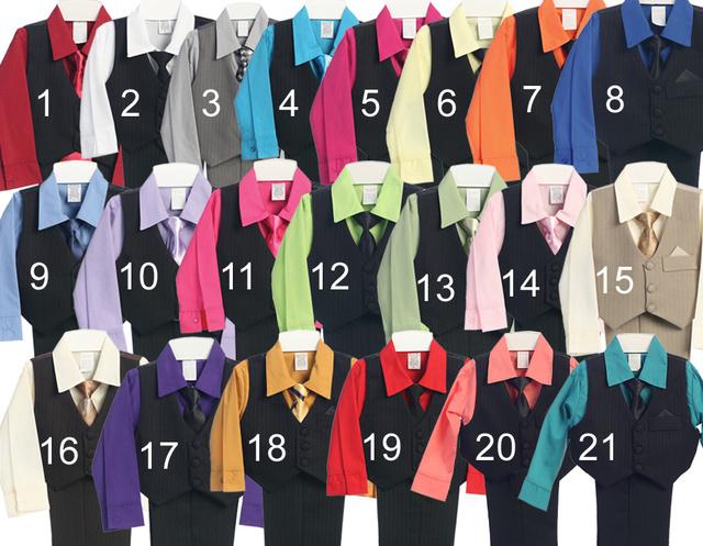 Boys Formal Vest Set, V3