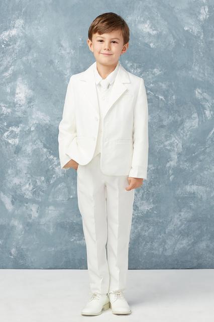 Boys Ivory Suit T402W