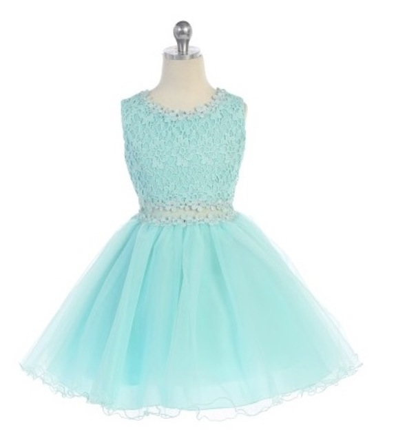 Lace Flare Dress J3755