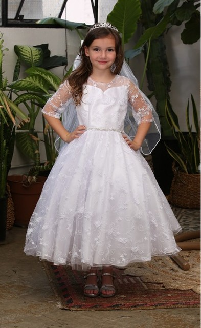First Communion Dress J408
