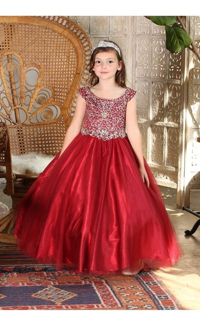 Girls Pageant Dress J506