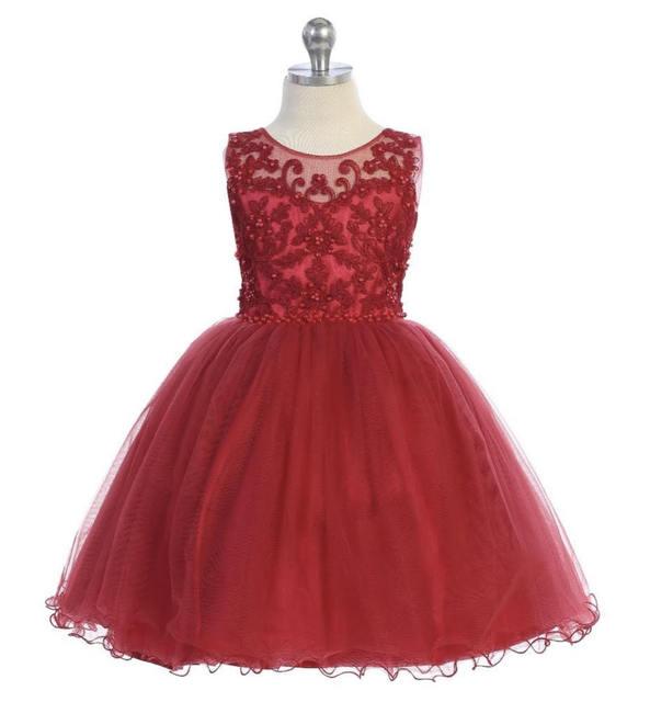 Girls Pageant Dress J701