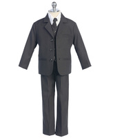 Boys Charcoal Suit, CS13