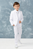 Boys White Suit, T402W
