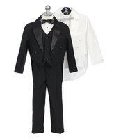 Infant & Children Tuxedo w/ Tails & Vest, IT1