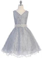 Lace Pageant Dress J321