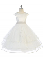 High Low Flower Girl Dress J363
