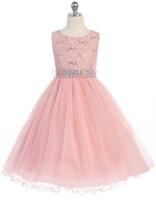 Lace Pageant Dress J367