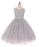 Lace Girls Pageant Dress J367