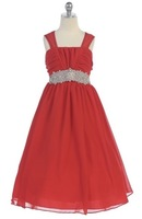 Beaded Chiiffon Pageant Dress J372