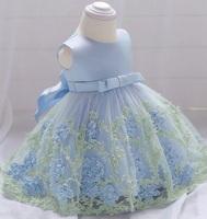 K111, Infant Floral Dress