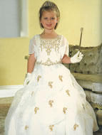 Glitzy Pageant Gown w/Pickup, MB601